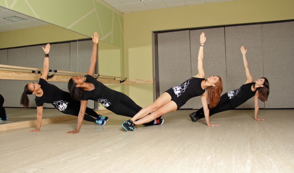 Planking at Philly Dance Fitness