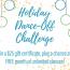 Holiday Dance-Off Challenge!