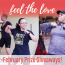 Feel the Love: February Prize Giveaways!