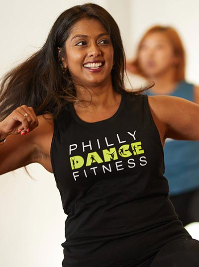 Philly Dance Fitness Muscle Tank